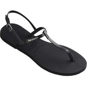havaianas You Riviera Sandals Women Black